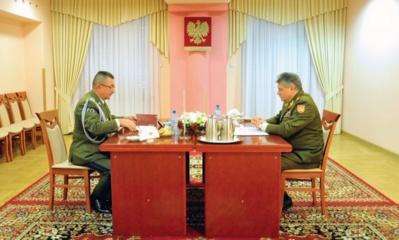 Lietuvos ir Lenkijos kariuomenių vadai sutarė stiprinti karinį bendradarbiavimą