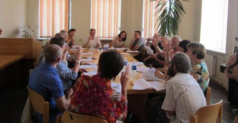 Seniūnaičių sueigoje aptartos finansavimo galimybės