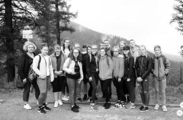 Tarptautinėje stovykloje Slovakijoje – naujos pažintys ir patirtys