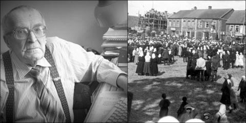 """Biržų garbės pilietis Borisas Januševičius: ,,Džiaugiuosi, kad Biržai mane apkabino..."""" (vaizdo įrašas)"""