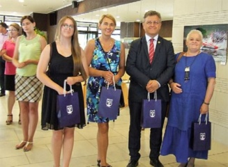 Biržiečių delegacija Aizkrauklės miesto šventės renginiuose