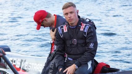 Europos F2 vandens formulių čempionate E. Riabko startuos antras