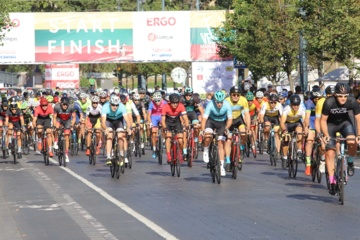 Velomaratono 100 km lenktynes laimėjo E. Gudiškis