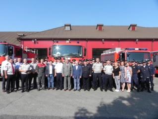 Į naują gyvenimo etapą išlydėtas Mažeikių objektinės priešgaisrinės gelbėjimo valdybos viršininkas
