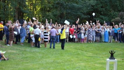 Čiobiškio šile ošė Širvintų bendruomenių linkėjimas Lietuvai (fotogalerija)