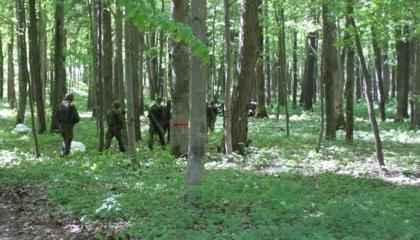 Karšuvos girioje ieškoma dingusio senjoro