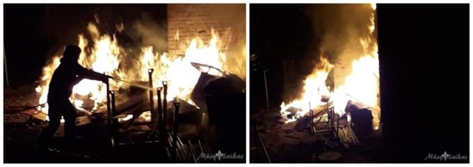 Degė miesto daugiabutis: nuo skaudžios nelaimės būtų išgelbėjęs dūmų detektorius