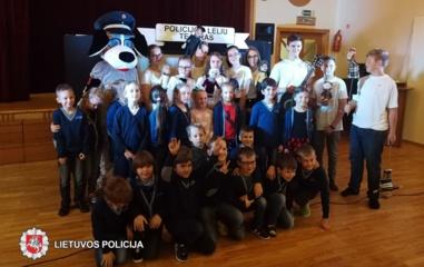 Policijos lėlių teatras dalyvavo tarptautiniame teatrų vaikams ir jaunimui festivalyje