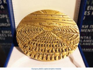 Europos piliečio apdovanojimas – ir kaišiadoriečių nuopelnas