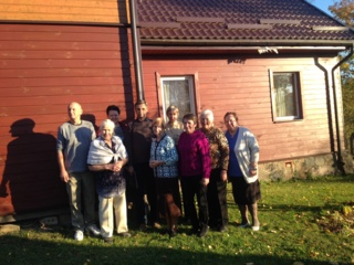 Jurbarko esperanto klubo Horizontas išvažiuojamasis susirinkimas