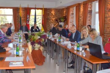 Lazdijuose vyko Alytaus regiono plėtros tarybos posėdis
