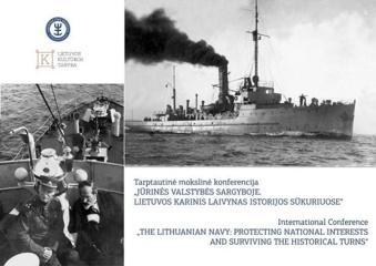 Jūrų muziejus rengia konferenciją apie Lietuvos karinį laivyną istorijos sūkuriuose
