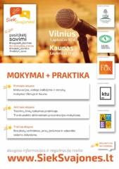 Oratorystės mokymai 9-12 klasių moksleiviams Kaune ir Vilniuje