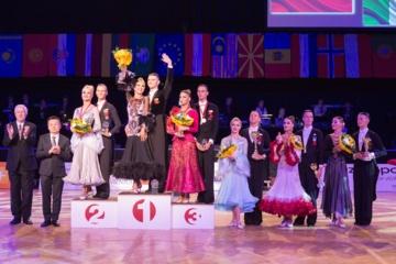 Šokėjai E. Sodeika ir I. Žukauskaitė Austrijoje tapo pasaulio vicečempionais