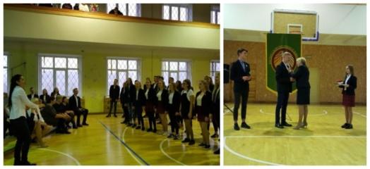 Vyko gimnazijos prezidento inauguracija