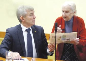 Seimo pirmininko viešnagė