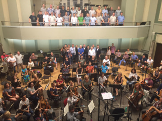 """Tarp """"Grammy"""" nominantų - Kauno miesto simfoninio orkestro ir solistų įrašyta plokštelė"""