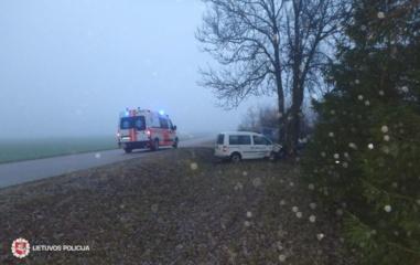 Praėjusią parą šalies keliuose sužeista 11 žmonių