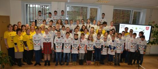 Vilniaus rajono švietimo įstaigos siekė Gineso rekordo