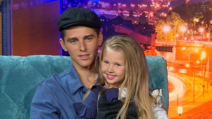 """Donatas Montvydas apie dukrytę: """"Aš labai lepinu Adelę"""""""