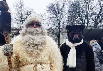 Kalėdų senelių susitikimas Vilniuje