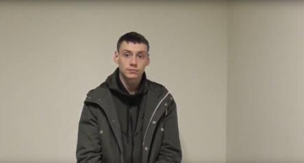 Sulaikytas jaunas įžūlus plėšikas (vaizdo įrašas)