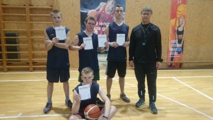Gelvonų berniukai – krepšinio 3x3 varžybų nugalėtojai