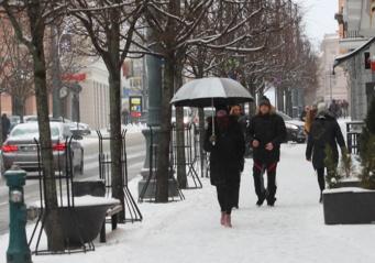Savaitei baigiantis atkeliauja žiema: snigs gausiai