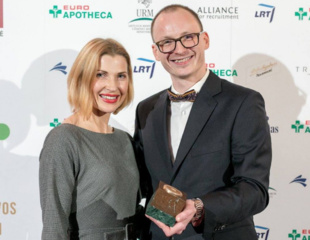 """Eivanas Maksvytis įvertintas """"Globalios Lietuvos apdovanojimuose"""""""