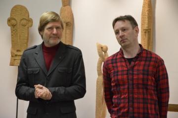 """Dviejų skulptorių kūrybą suvienijo """"Ąžuolo kelias"""""""