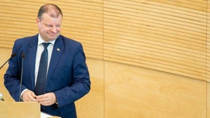 S. Skvernelis paskelbė dalyvausiantis Lietuvos prezidento rinkimuose