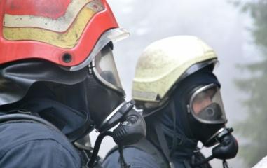 Baldų įmonės teritorijoje kilo gaisras