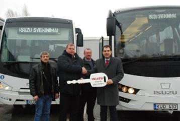 """""""Ledo dieną""""  nauji autobusai"""