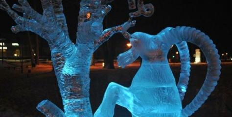 Ledo skulptūrų festivalyje Druskininkuose nugalėjo alytiškio kūrinys