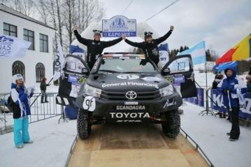 Lenktynininkas B. Vanagas pasaulio taurės varžybose Karelijoje užėmė trečiąją vietą