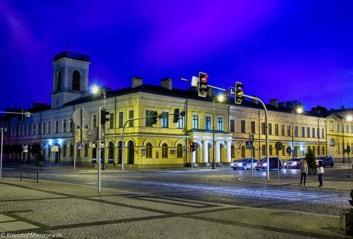 Vasario 16-osios proga alytiškius pasveikino Suvalkų miestas