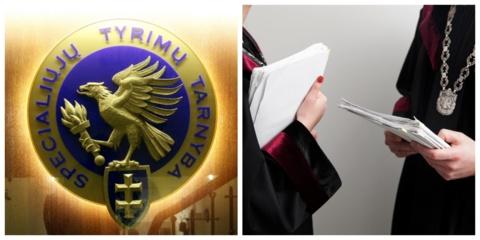 STT: Ikiteisminiame tyrime dėl stambaus masto korupcijos teismų sistemoje – kelios dešimtys įtariamųjų
