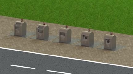 Tauragėje projektuojamos šiuolaikiškos požeminės konteinerių aikštelės