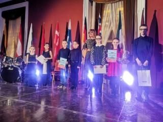 Puikus Šalčininkų akordeonistų pasirodymas tarptautiniame akordeonistų konkurse
