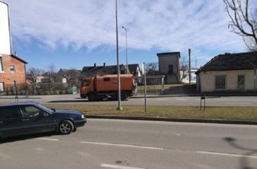 Šluojamos miesto gatvės