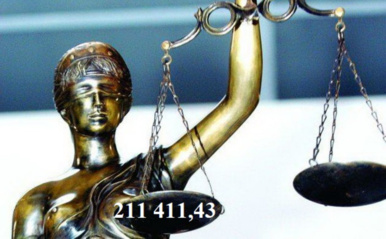 Iš Širvintų r. savivaldybės priteista 211 411,43 Eur