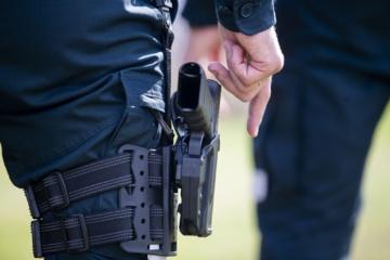 Šalčininkuose pas vyrą rastas nelegaliai laikomas revolveris