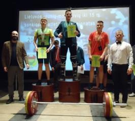 Edgaras Budrys – šalies jaunių bronzos medalininkas