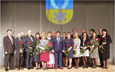 Prisiekė naujai išrinkta Savivaldybės taryba