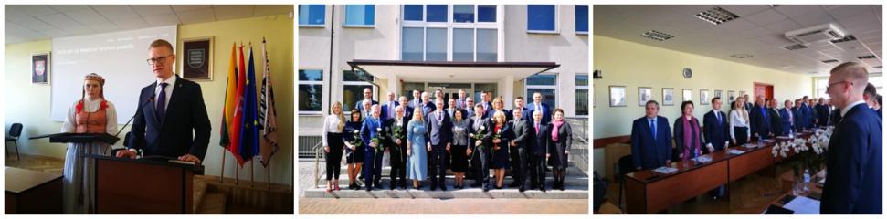 Prisiekė 2019-2023 metų kadencijos Kaišiadorių rajono savivaldybės tarybos nariai ir Savivaldybės meras Vytenis Tomkus