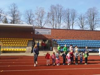 Saulėta Birštono sporto diena