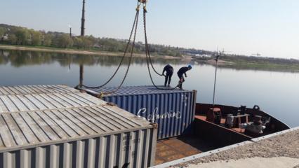 Atkurta krovininė laivyba Nemunu