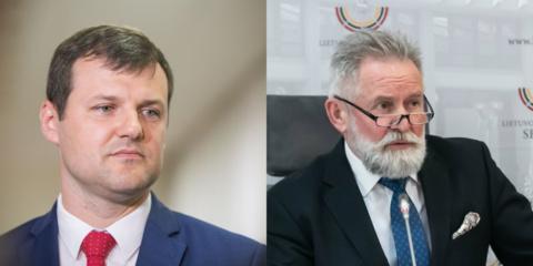 Prasidėjo LSDP pirmininko rinkimai: G. Paluckui iššūkį meta A. Sysas