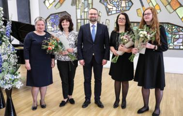 Prasidėjo nacionalinė Lietuvos bibliotekų savaitė, tarp apdovanotųjų – jonavietė