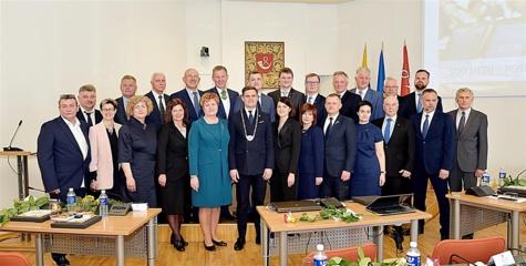 Prisiekė naujoji Tauragės rajono savivaldybės taryba